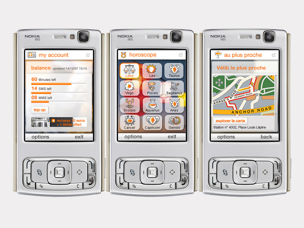 Mobile apps carin campanario for Orange mobel